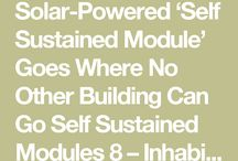 self contained modern dwellings