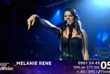 """Mélanie René   Switzerland Eurovision 2015 / Mélanie René is a Swiss singer and songwriter of Mauritian origin. She represented Switzerland in the Eurovision Song Contest 2015 with the song """"Time to Shine""""."""