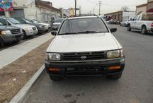 Used 1999 Nissan Pathfinder for Sale ($3,500) at Paterson, NJ / Make:  Nissan, Model:  Pathfinder, Year:  1999, Body Style:  Tractor, Exterior Color: Tan, Vehicle Condition: Excellent,  Engine: 6Cylinder 3.3L V6 OHV 12V, Fuel: Gasoline Hybrid, Mileage:115,000 mi, Transmission: Automatic.   Contact:973-925-5626   Car Id (56641)