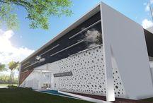 Amipa Uberlândia / Projetos arquitetônicos