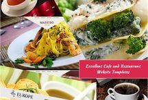 Cafe and Restaurant Website Templates