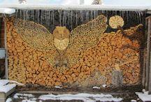 Puupinot / Wood piles