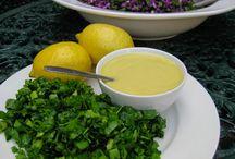 Recipes: Sauces & Dressings