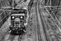 Trains & Tracks / by Gina Harris