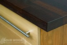 Solid Wood Worktops / Please browse our solid wood worktop collection.