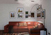Москва, ЖК Аксиома / Проект перепланировки 1-но комнатной квартиры.