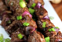 Asian beef bbq
