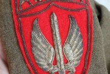polish paracommando badges / en special insignes plus photo's !