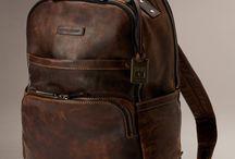 mochilas de couro