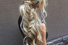 Hair for Matric dance