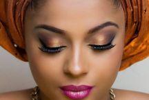 African Wedding Makeup