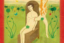Libro Cristo y las Figuras Bíblicas / Autor: P. Alfredo Sáenz, SJ.  5 ilustraciones de figuras bíblicas.