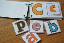 Preschoolers! / DIY booklet for kids to learn their ABC & 123 while on the go!