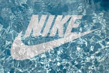 Nike + adidas background