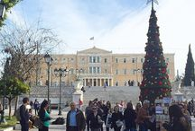 Wintertime in Athens / Athens is the place that is beautiful all the year around, but in wintertime, Athens has something magic that makes you enjoy the cozy atmosphere! http://goo.gl/r1Ohtt