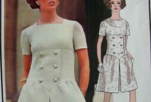 Vintage Patterns / Patterns that I'd like to own. / by Xole Karman