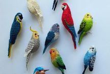 háčkování ptáčci