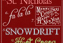 Digi - Fonts - Holiday/Winter