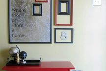 Decor: Wall Decor Inspirations / Don't neglect the walls.  A wall is like a blank canvas! All things to decorate those plain walls! / by Designed Decor