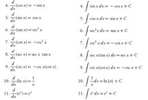 Differential and integral