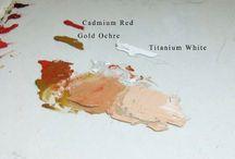 oil painting skin tones