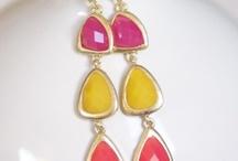Bejewelled - Earrings / by Tiffany M