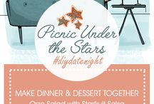#diydatenight / Make date night more fun with our creative ideas!