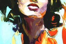 Francoise Nielly / Work by artist Francoise Nielly