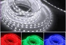 Décoration LED / Des idées de décorations pour illuminer votre maison, bureau, chambre, etc...