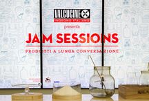 Jam Sessions at Expo Gate Milan / From 2nd to 21st December the Expo Gate will become a temporary kitchen where chefs, passers-by and personalities of the design and cultural world will meet in a New Logica System kitchen to prepare preserves and marmalades and tell each other stories about their life and their culinary experiences. Organised by Valcucine with the collaboration of TourDeFork the Jam Sessions - Prodotti a lunga conversazione event will end with a show of the jars produced and of the utensils used to prepare them.