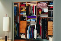 Amazing Closets / A luxury wall safe always completes an already amazing closet.