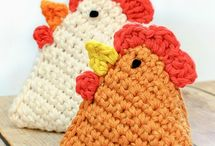 Easter crochets