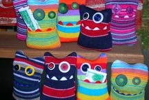 Sock creatures / by Robin LaLone
