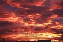 目が覚めたら奇麗な朝焼けで、急いでオートバイを飛ばして撮ってきました。 It was a beautiful glow in the morning today. #morninggrow #todayssky #skyview #朝焼け #今朝の空 #空 #おはようというよりはおやすみなさい写真