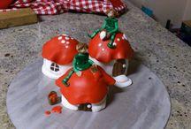 Tortenwelt / Torten und Tortenfiguren die ich gemacht habe (: