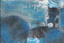 Gelli printing / by Sharon Threlkeld