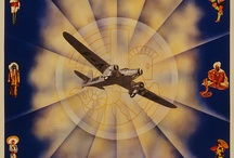 Come fly with me! / Vintage flight posters.