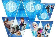 Nyomtatható anyagok Frozen