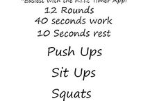 Tabata workouts / by Jessica Lee