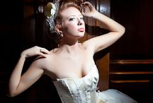 dramatic bridals / high drama and couture bridal portraits