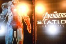 Avengers at Discovery Times Square