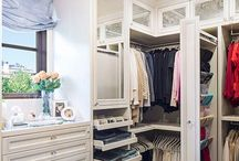 Decor - Walk in closet / by Home With Ava