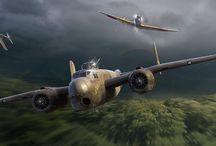 Aviation Art / A arte e a aviação.