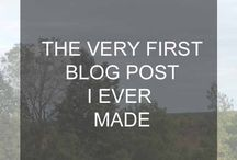 """My Blog Posts. / I write blog posts one a week on Saturdays. It is a """"whatever floats my boat"""" kind of blog. It mostly deals with makeup, fashion, university, tips and tricks. But sometimes it is a little sporadic to be completely honest."""