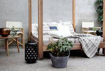 Inspirasjon: Betong / betong, terrasse, diy