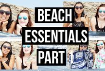 Summer Fun / Going to beaches, essentials to bring along