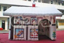 Inflatable Tents / inflatable tent, also named air tent, is a rising star in tents for all kinds of activities, such as camping, backpacking, wedding, event, carnival, advertising, outdoor leisure and holiday.