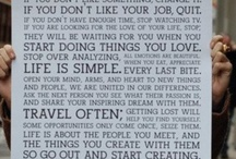 Words To Live By :) / by Robyn Porteous