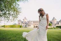 REAL WEDDINGS -- Inspiration Shoots