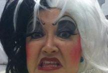 Cruella De Vil Make Up